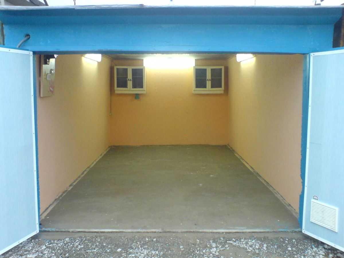 Как сделать стены в гараже изнутри 496