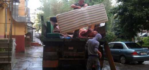 Разборка и вывоз старой мебели на свалку