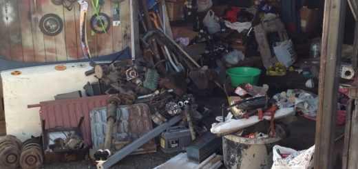 Сбор и вывоз хлама из гаража