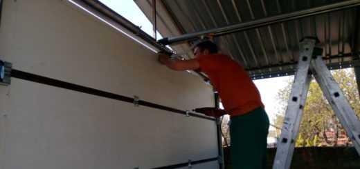 Срочный ремонт подъёмных секционных ворот